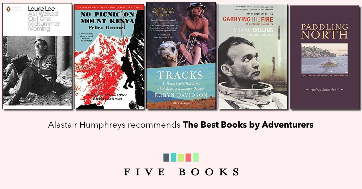 The Best Books by Adventurers   Five Books Expert Recommendations buff.ly/2EYbzTx