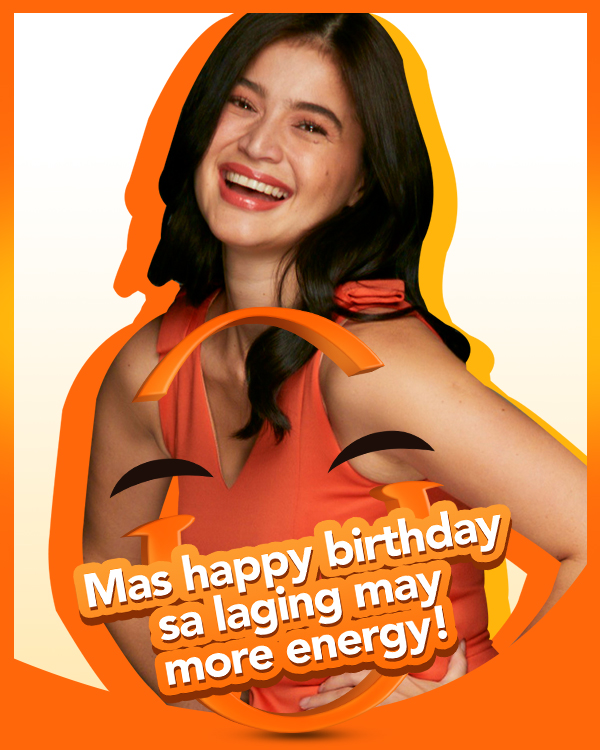 Mas happy kami kasi birthday mo, Anne! May you have all the energy you need to enjoy your day. #HappyAnneCurtisDay https://t.co/ZKhl4CR0xB