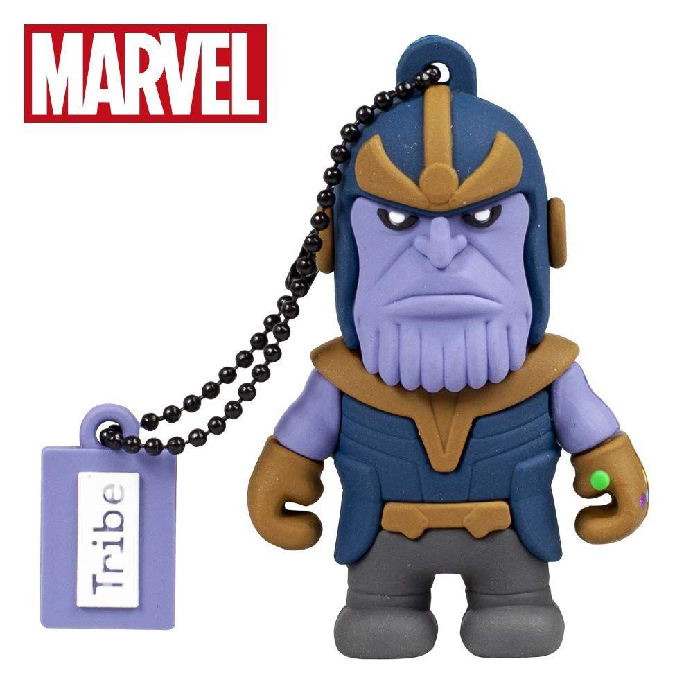 Chiavetta USB 16 GB Thanos - Memoria Flash Drive 2.0 Originale Marvel, Tribe FD016509  🔥 Ora: 16.79€ | Prima: 21.54€ Link: https://amzn.to/2IIP7ix    #Tribe #Personal