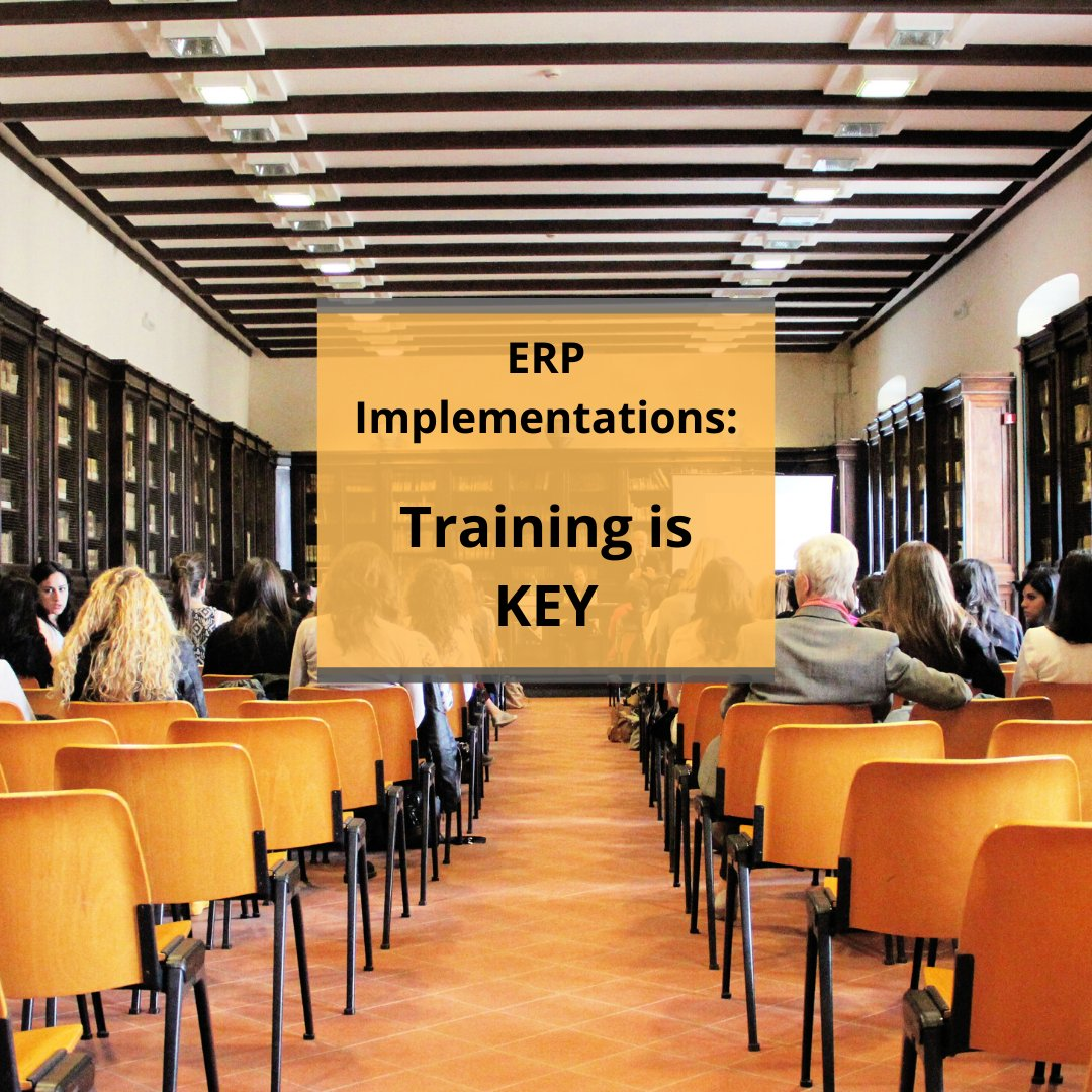 A good ERP system needs many different moving parts working together to ensure success. Training is a crucial element of this.  Check out our blog outlining how 'Training is the key to Key to Successful ERP Projects' >  http://ow.ly/vc6A50ympUt  #BusinessSolution #Training #ERPpic.twitter.com/Ctu1AI6PTm