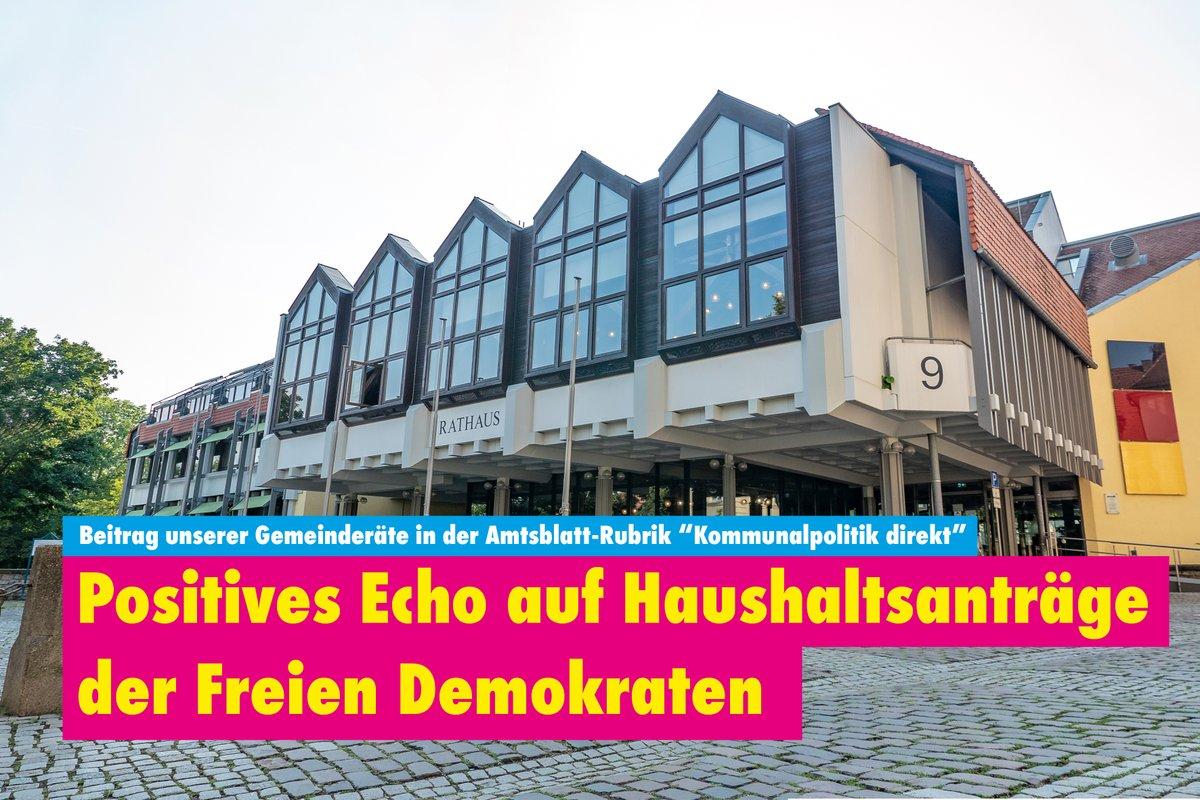 Haushalt 2020: Unternehmen brauchen Entwicklungsperspektiven in #Bretten Dazu benötigen wir zwingend neue Gewerbeflächen   Außerdem müssen neue Feuerwehrhäuser für #Gölshausen, #Ruit & #Büchig entstehen  http://fdp-bretten.de/positives-echo-auf-haushaltsantraege-der-fdp/…  #Gemeinderat #FDP #FreieDemokraten pic.twitter.com/pZ6nSBVCz2