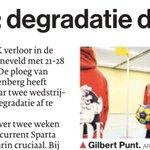 Ook in #AD Amersfoort: Degradatie dreigt voor @ckvODIK na verlies van @DeetosSnel #korfbal