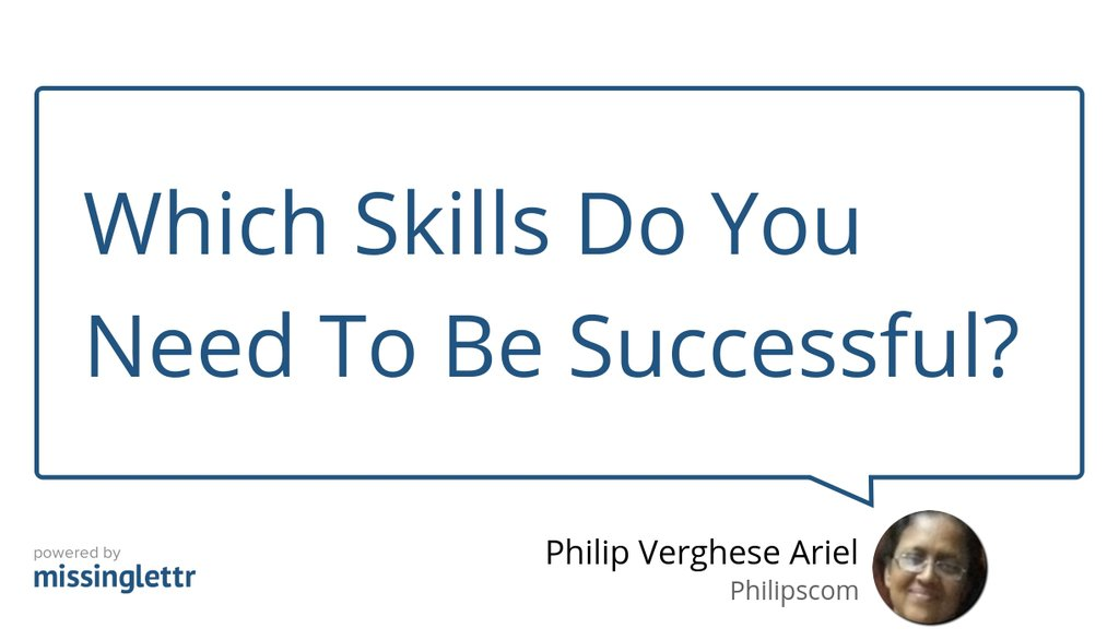 Which Skills Do You Need To Be Successful?: https://lttr.ai/NS6c   #ActiveListening #Communication #Skills #Ariel #Toughness #Selfhelp #Strategy