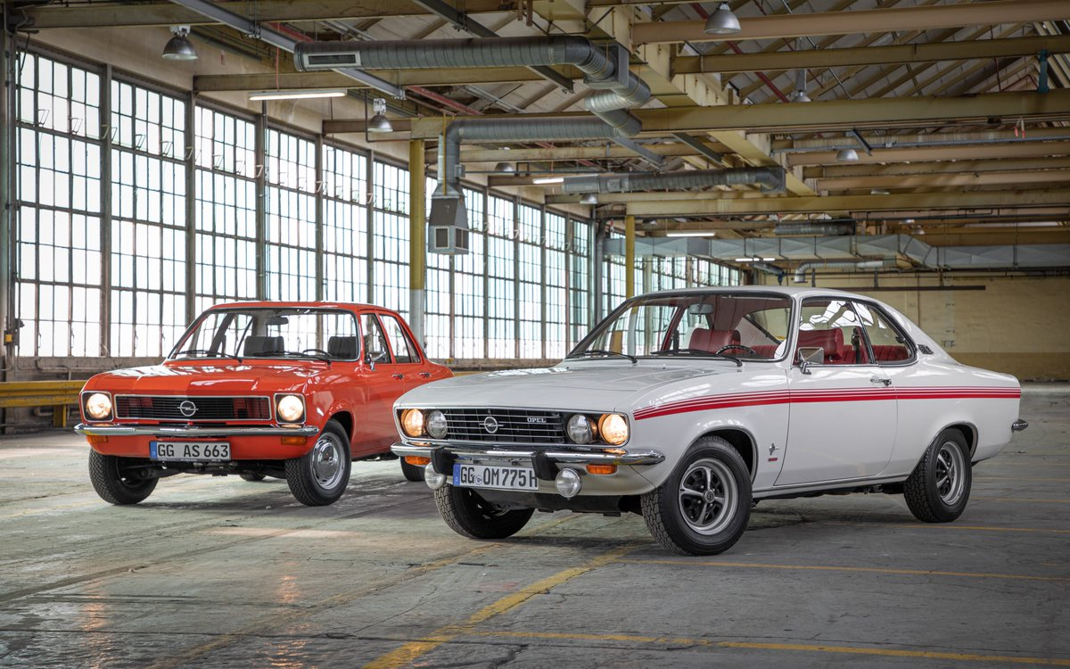 #Opel Ascona and Manta are 50 Years Old  Dream car: the gorgeous Manta hit the market in 1970 All-rounder: Ascona as sports limousine and life-style estate arrived in same pic.twitter.com/IFg0tXYmKd