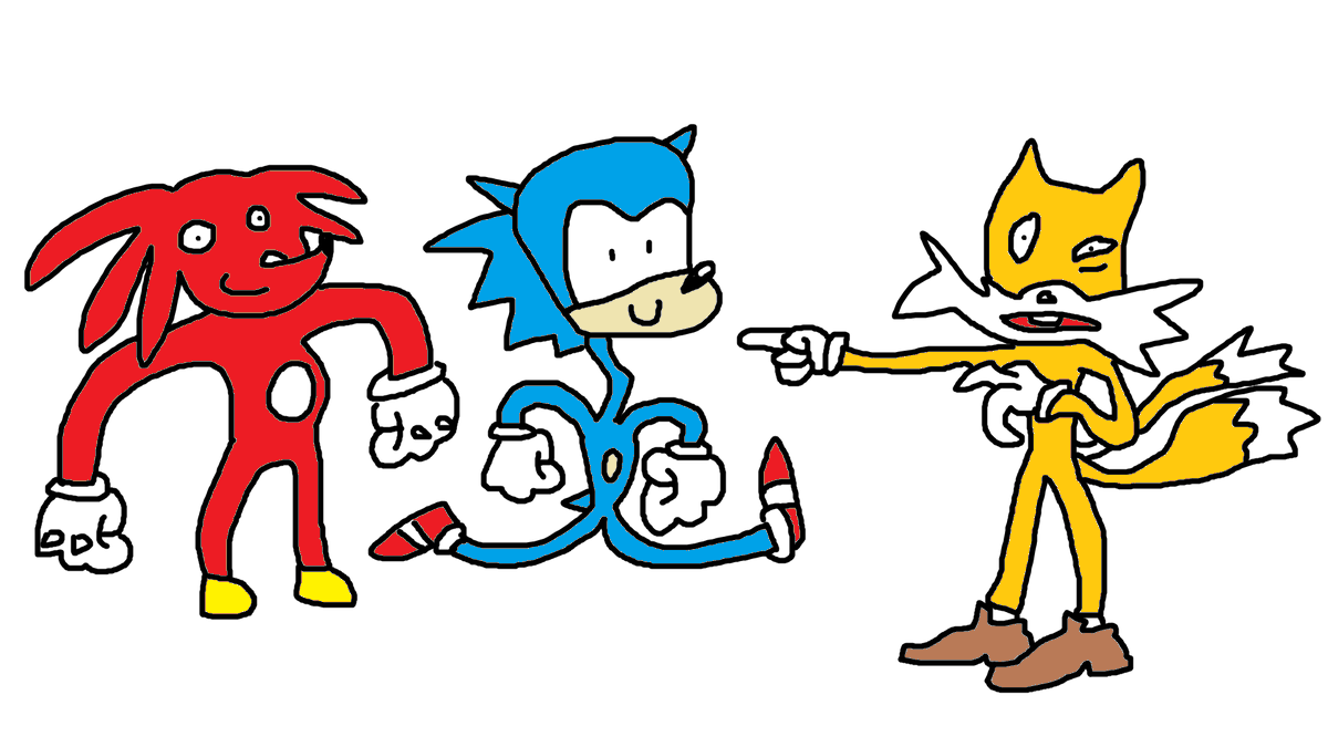 Possum Reviews On Twitter I Drew Some Sonic The Hedgehog Characters Sonicmovie