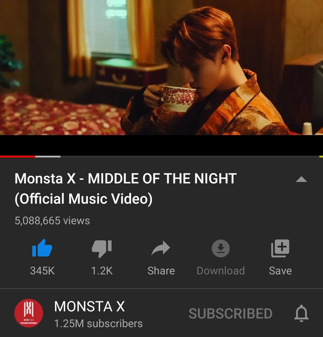 Hey #MONBEBE!  Have u heard? @OfficialMonstaX #MiddleOfTheNight got 5M views in YT now!!! 🥳🎉✨ We're doin' a great job! Let's keep the ball rollin'!!!  @Epic_Records #AllAboutLuv #AllAboutLuvOutNow #MONSTAX