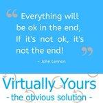 Image for the Tweet beginning: @JohnLennon #Endings #VirtuallyYours