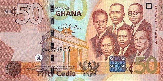 Ghana 🇬🇭: Le cédi plus performante que le dollar 💵en ce début d'année