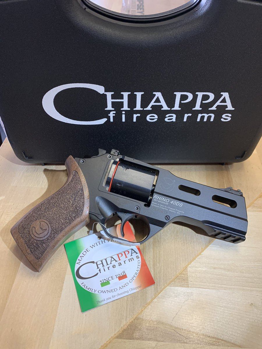 Just in! Chiappa Rhino 40DS .357 Magnum. #chiapparhino #chiappafirearms #357magnum #357mag #revolver