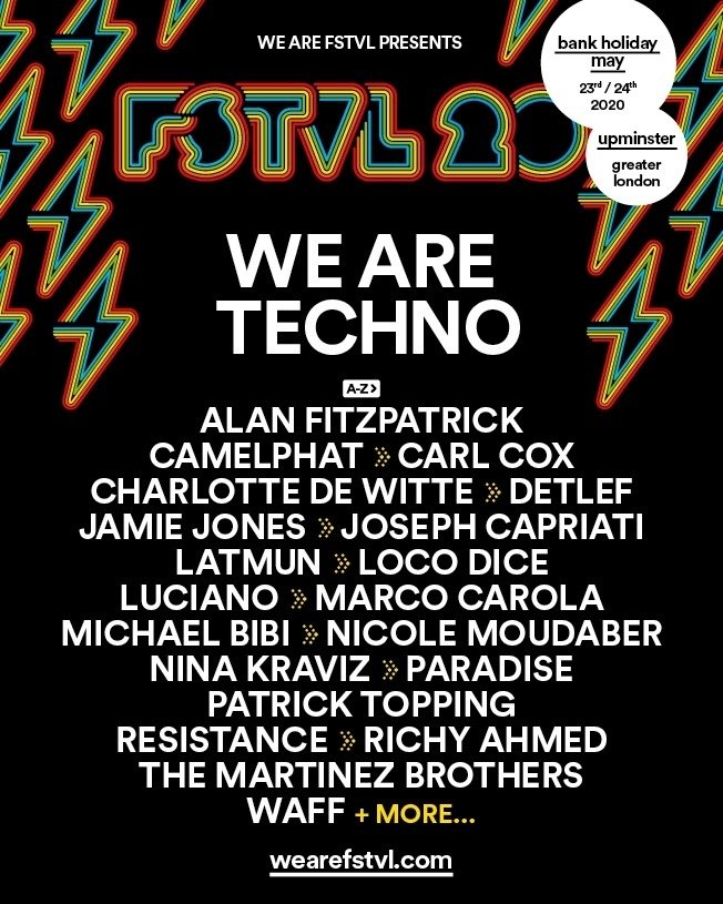 We are festival 2020