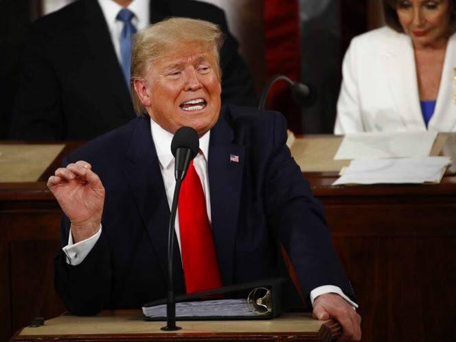 Trump: se construye muro alto y poderoso