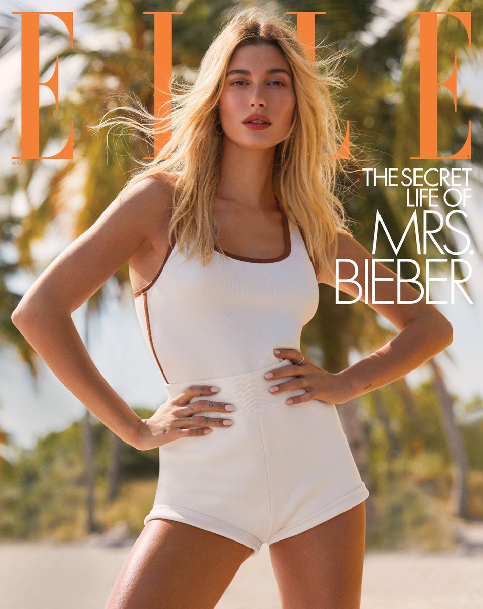 "For ELLEs March issue, @haileybieber opens up about her faith, life as a newlywed, and loving Justin in sickness and in health. ""When we first got married, we were just figuring out our life together. Read more: ellemag.co/wfA29MR"