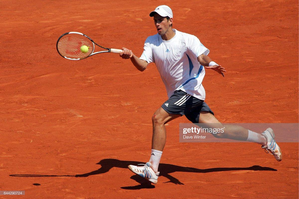 Roland Garros 2006 - the tournament where I first watched Novak play and became his fan ever since. #downmemorylane #novakdjokovic #NoleFam #tennis #Djokovic<br>http://pic.twitter.com/ruZcSjbuOC