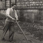 Image for the Tweet beginning: Mowing Asburnham Garden in the