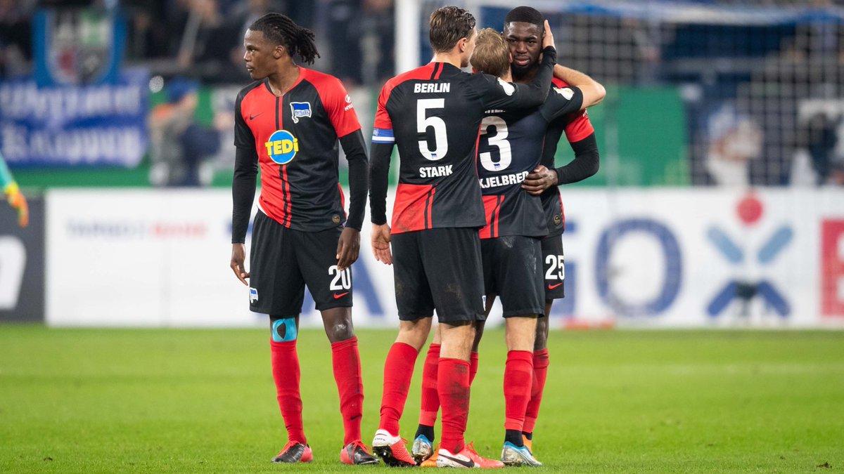 Schalke Beat Hertha BSC