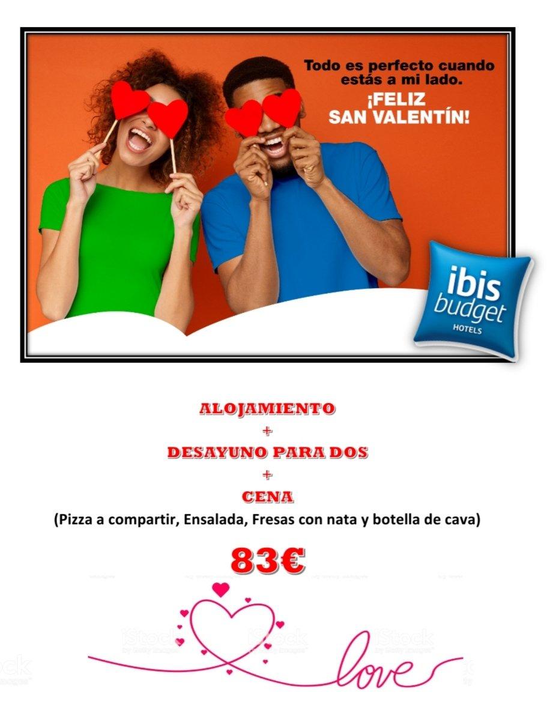 Ya sabemos que #Febrero es el mes del amor, y por eso queremos sacar esta estupenda promoción para que lo celebreis por todo lo alto. #loveisintheair #ibis #alcorcón #móstoles https://t.co/5DjJxOV9j4