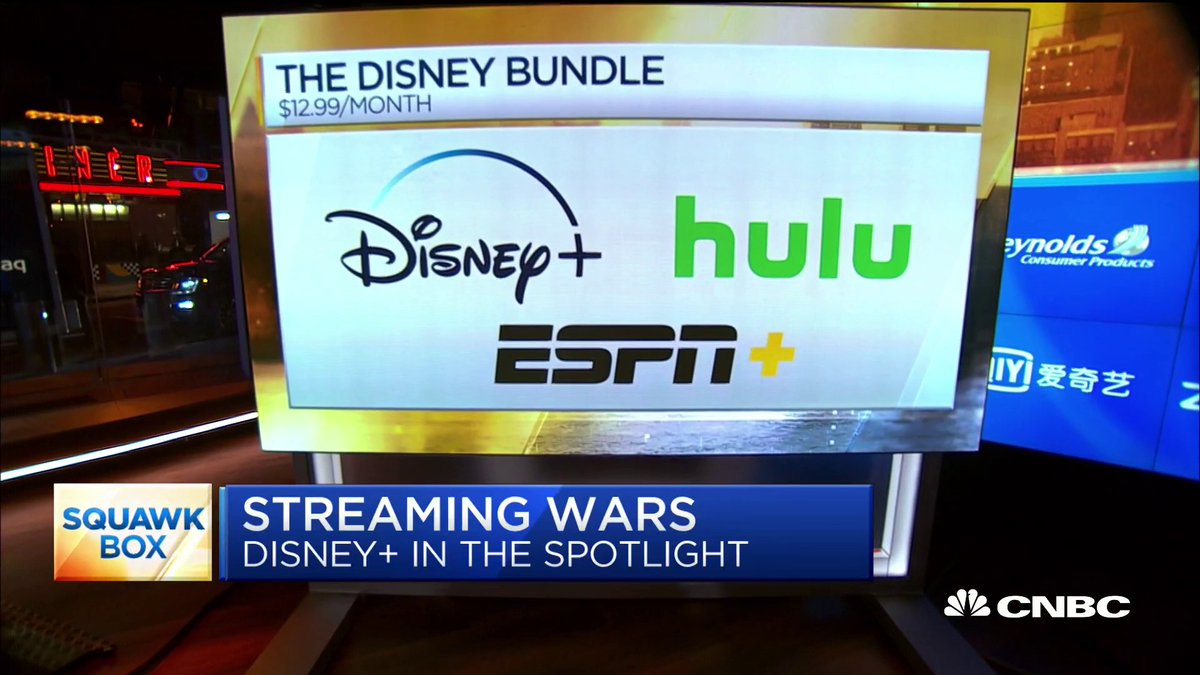 """Disney says it has 26.5M Disney+ subscribers with an average revenue per user of nearly $6. """"The quality of those sub numbers are really strong,"""" says former TiVo CEO Tom Rogers on $DIS."""