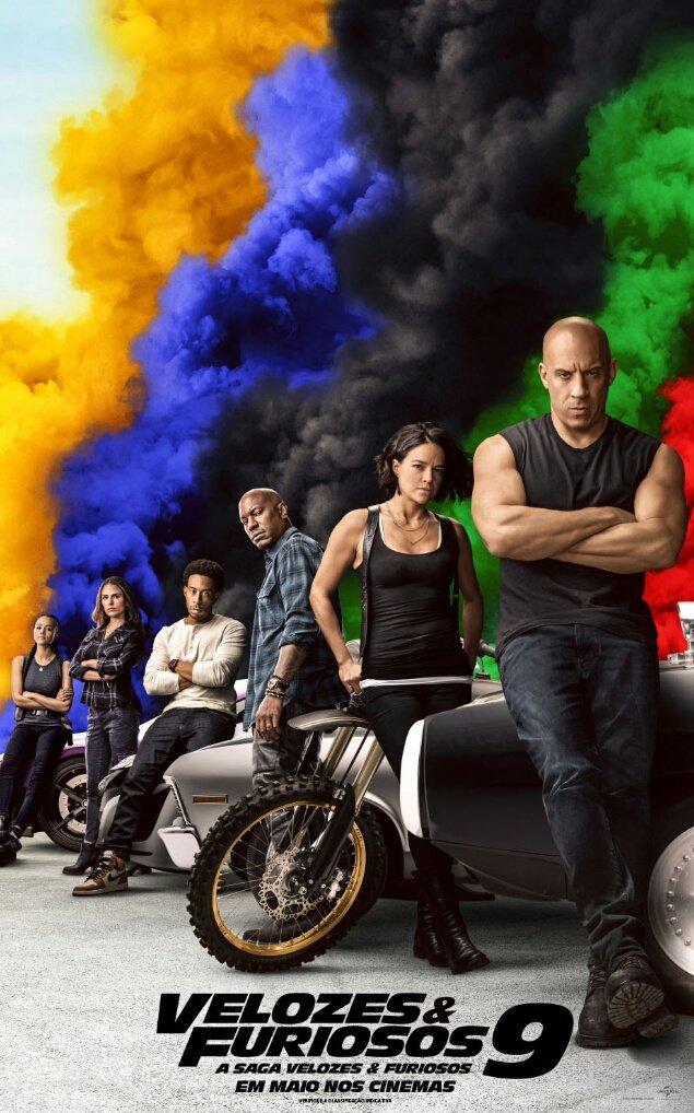 Uma das maiores franquias de ação está chegando aos cinemas brasileiros. No dia 21 de maio, #VelozesEFuriosos9 virá com tudo. #FastAndFurious9 Trailer: https://youtu.be/NnDGWyfP7q4pic.twitter.com/L7S29kK8Ks