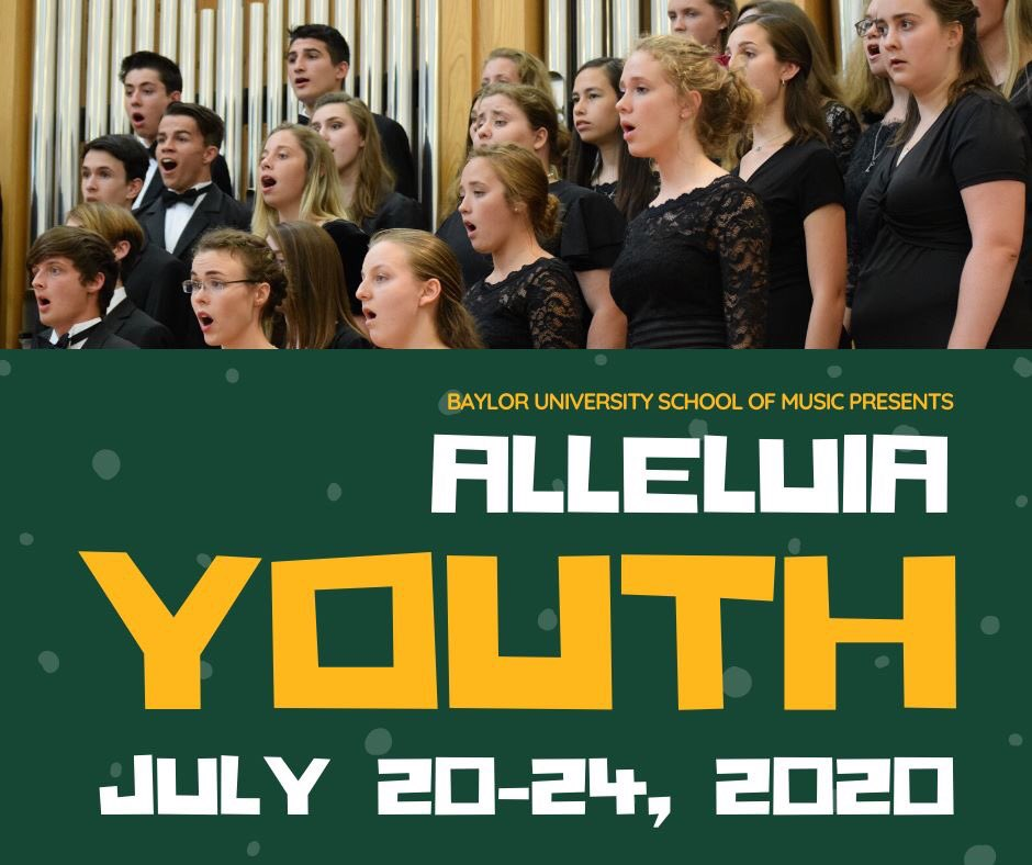 Registration is open NOW for Alleluia Youth (part of the Alleluia Conference) and Worship Lab!  Both of these outstanding worship music programs are for rising 9th-12th graders. #baylormusic   ALLELUIA YOUTH: http://www.baylor.edu/alleluia/youth    WORSHIP LAB:http://www.baylor.edu/worshiplab pic.twitter.com/KzyJp0mqbr