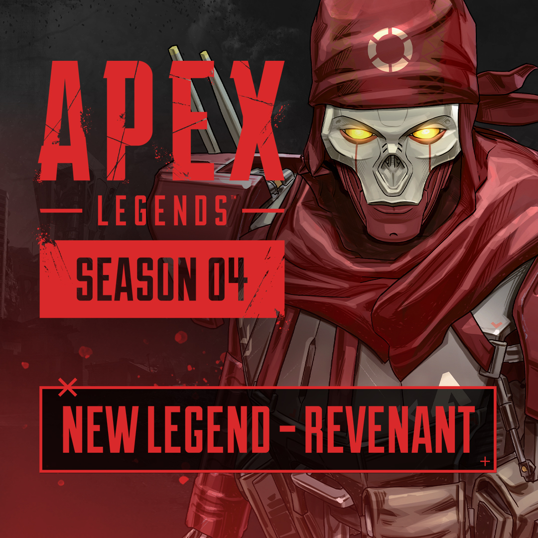 A human-hitman turned into a nightmare simulacrum, Revenant has been dealing death for centuries. Now his synthetics sights are set on the company that created him and any Legends who cross his path.   Play Revenant, along with Season 4 – Assimilation, now. 💀