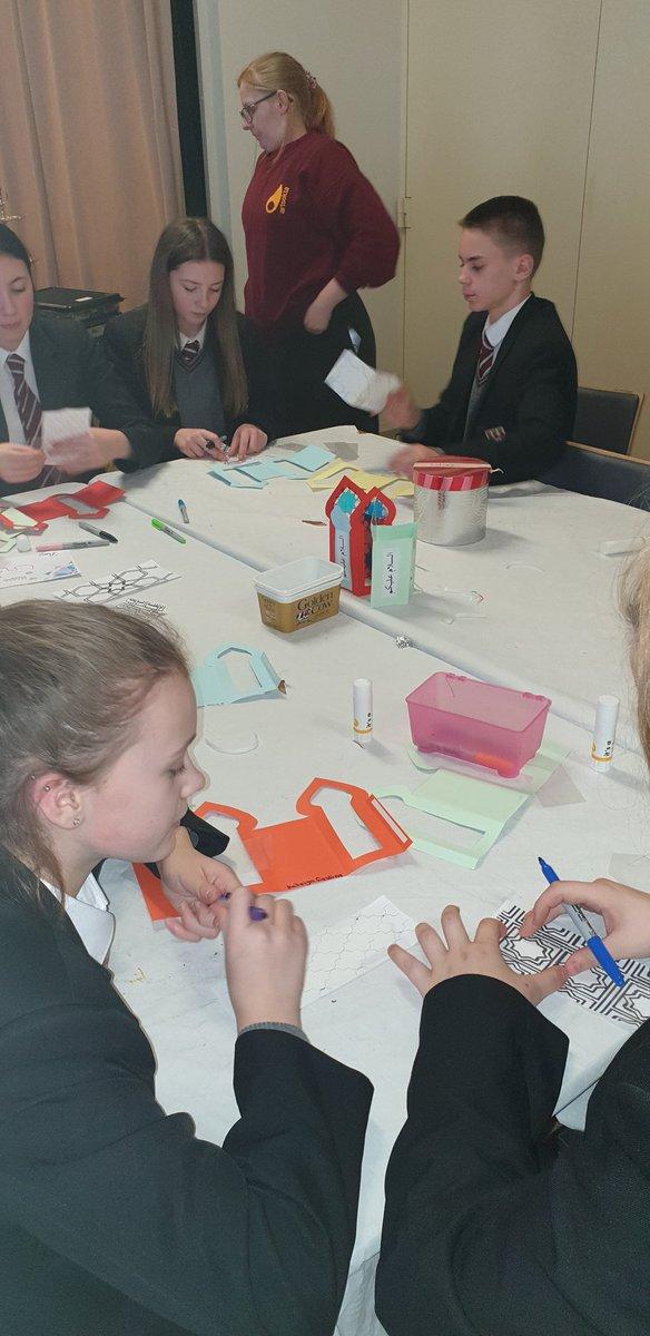 Creating paper lanterns