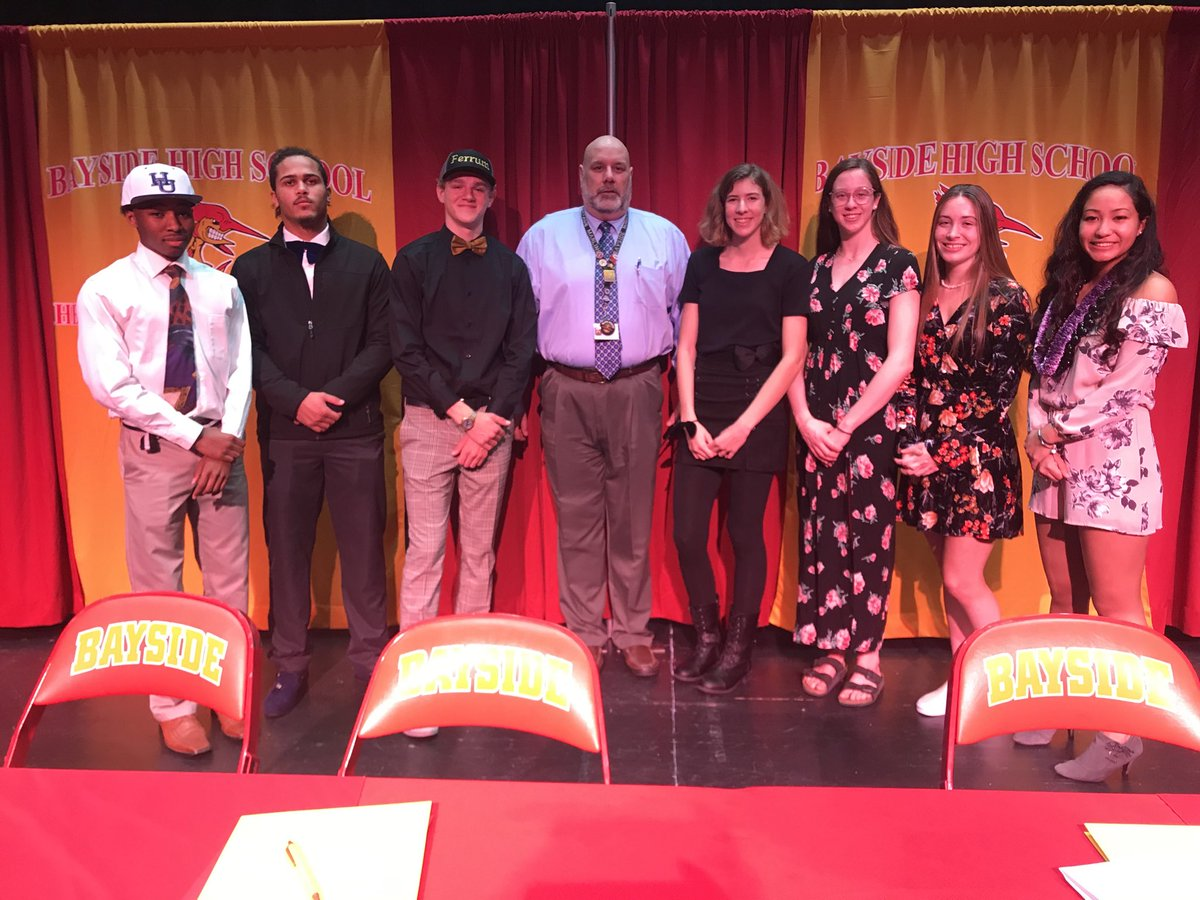 BHS signing day - big deal and another reason why it's always a great day to be a MARLIN!😀