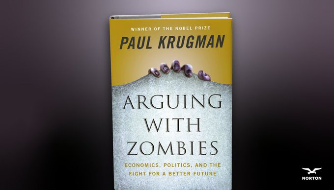 Boston event for Arguing With Zombies tomorrow night. Tickets here harvard.com/event/paul_kru…