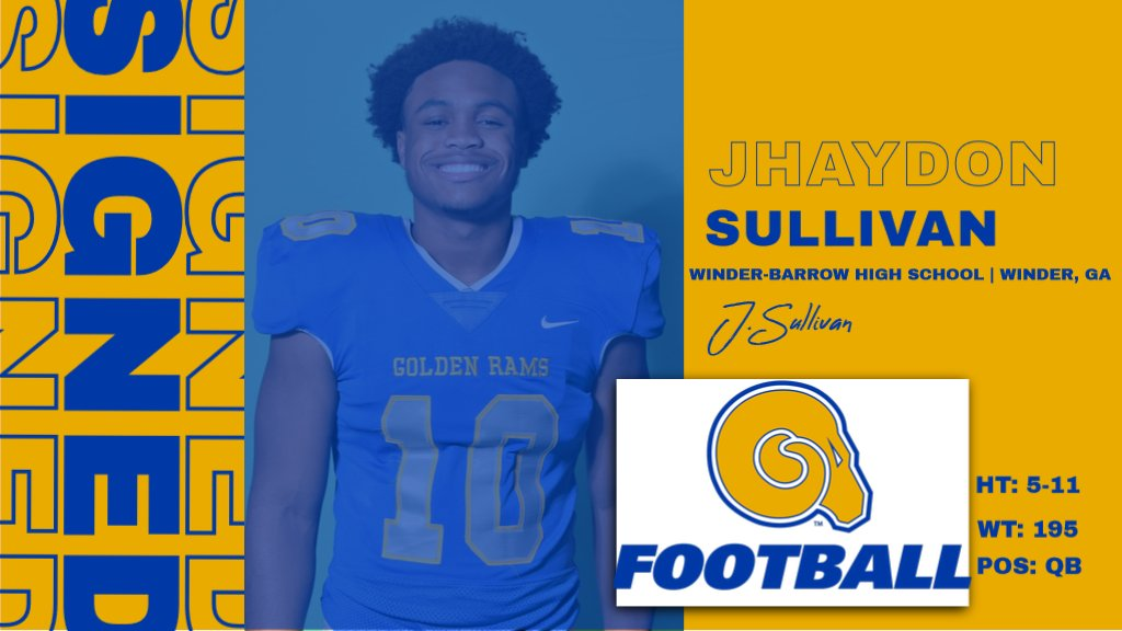 Welcome to the RAMily Jhaydon Sullivan!  #NSD20 #BanyBuilt20 https://t.co/n0xFKxCfRw