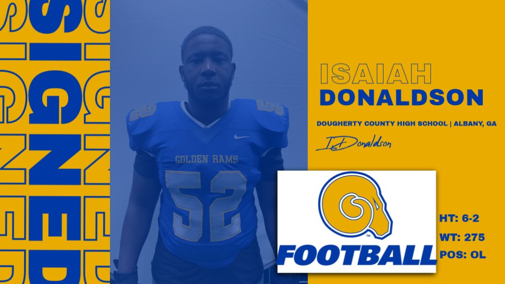 Welcome to the RAMily Isaiah Donaldson!  #NSD20 #BanyBuilt20 https://t.co/hKkrtDDKUz