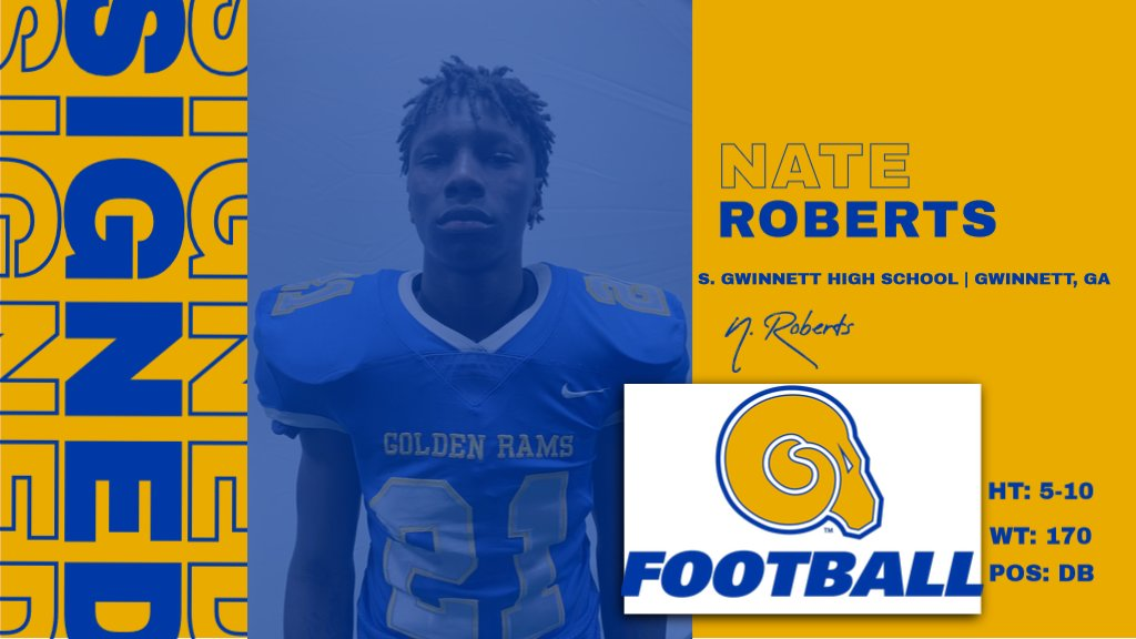 Welcome to the RAMily Nate Roberts!  #NSD20 #BanyBuilt20 https://t.co/QgpNr8Ry6I
