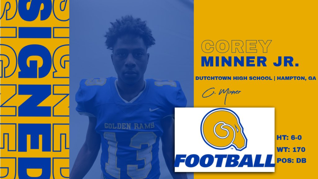 Welcome to the RAMily Corey Minner Jr.!  #NSD20 #BanyBuilt20 https://t.co/CWnXiIis4D