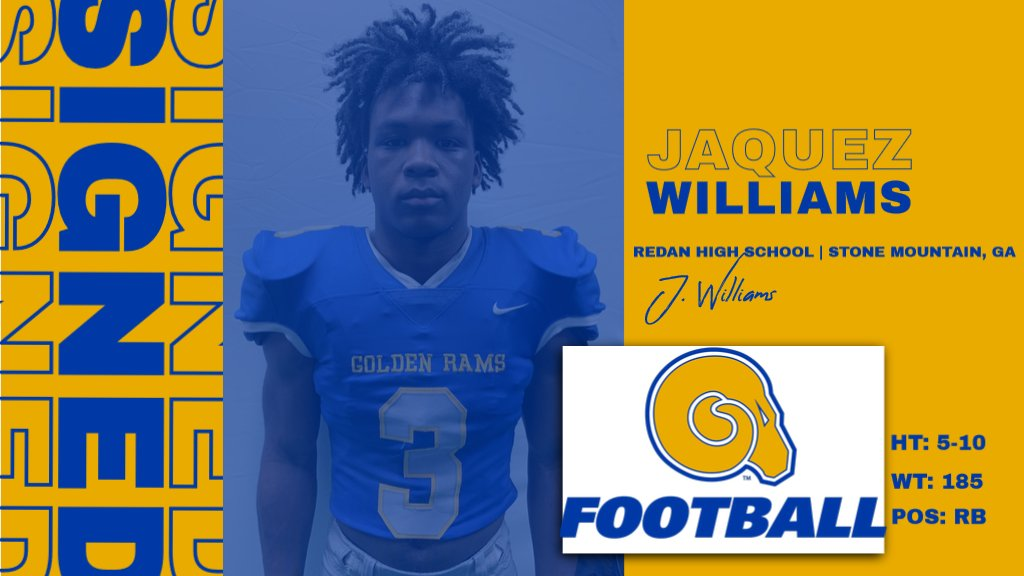 Welcome to the RAMily JaQuez Williams!  #NSD20 #BanyBuilt20 https://t.co/FWRGztu083