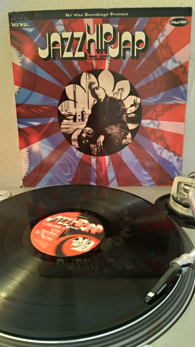 #NowSpinning    Various – Jazz Hip Jap Project   #MoWax @MoWaxOfficial #triphop #MWLP001 #PhatGroove #2LP #Classic
