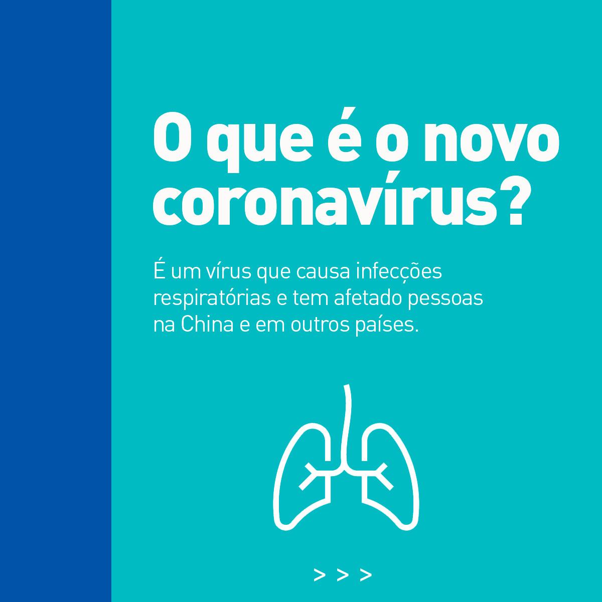 Nos últimos dias, um novo vírus tem ocupado os noticiários e preocupado o mundo todo. É o novo coronavírus, uma família viral que causa problemas respiratórios sérios. Saiba o que é, os sintomas e os cuidados preventivos arrastando pro lado.#paguemenos #dicasdesaude #coronavirus https://t.co/W0E8roy7GU