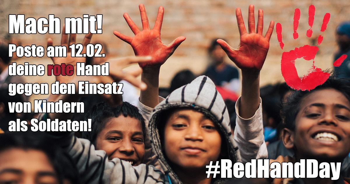 #RedHandDay