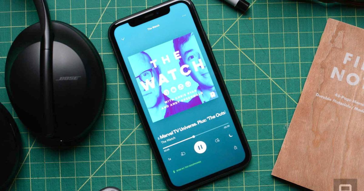 Spotify is the new king of podcasts