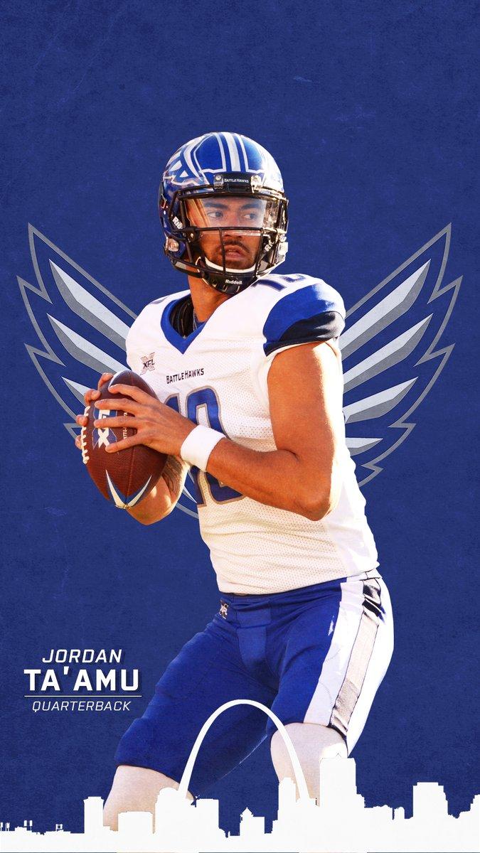St Louis Battlehawks On Twitter Make Qb1 Your Lock Screen Wallpaperwednesday With Jtaamu10 Fortheloveoffootball X Clearedtoengage