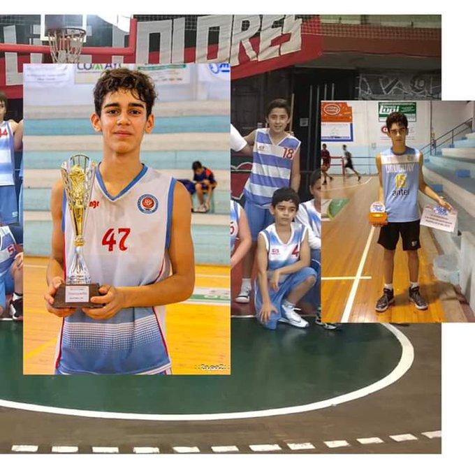 El básquetbol de luto por la muerte de Leandro Paz, de 13 años