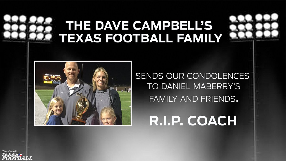 RIP Coach Maberry.