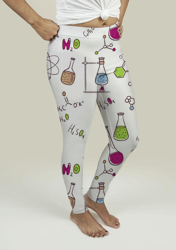 Leggings with Chemistry Pattern is now available in our shop for only $38.49. Buy it now