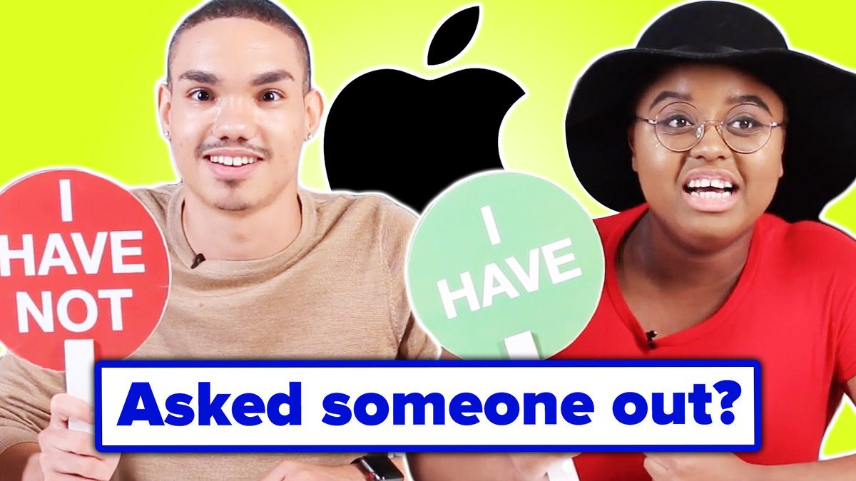 "We had Apple Store employees play a game of ""Never Have I Ever"" 👀"
