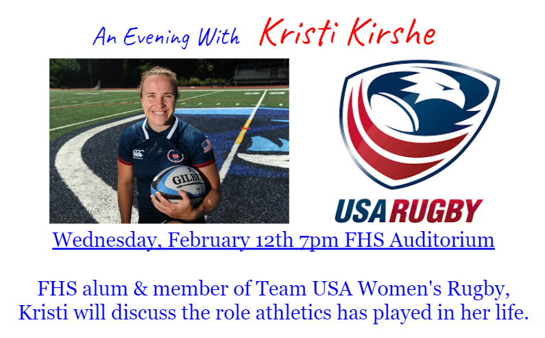 An Evening With Kristi Kirshe = Feb 12, 7 PM