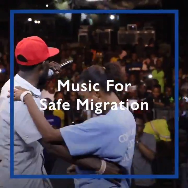 Returnees and Nigerian youth are using the power of music to promote safe migration 🎶🎼 #WeTogether