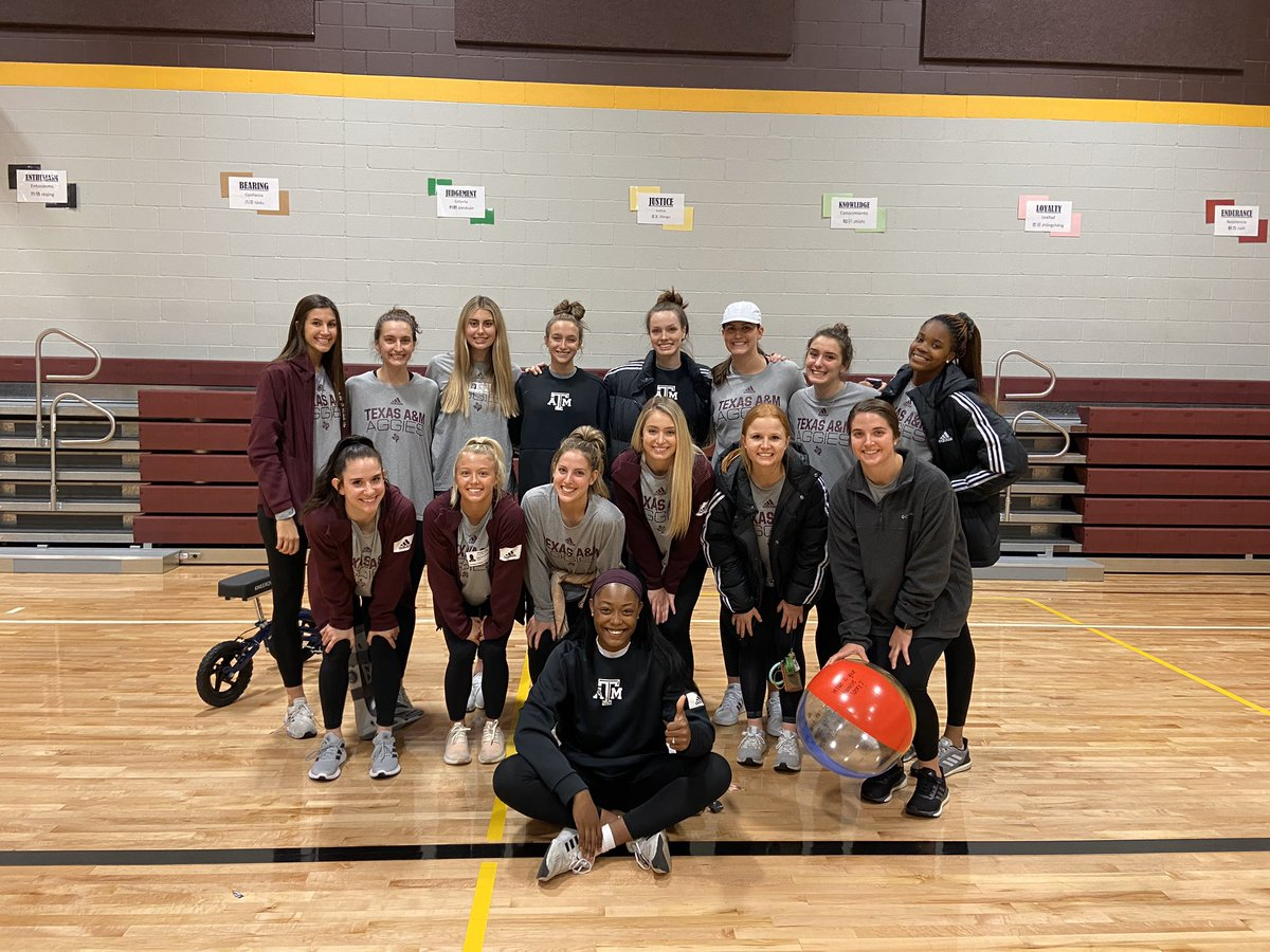 Happy National Girls and Women in Sports Day from Aggie Volleyball! 🥰💞 #Trust #GigEm