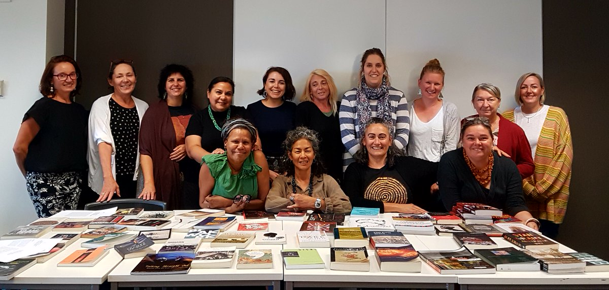 Ready to start day 4 of our Indigenous Research Methodologies Course with this deadly bunch!! @Flinders @georgeinstitute