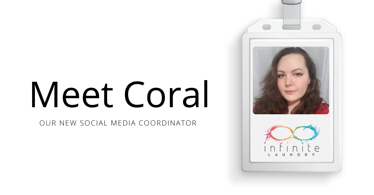 Join us in welcoming Coral to the #InfiniteLaundry team! 🎉 She is our new Social Media Coordinator, and we are excited to have her aboard! https://www.infinitelaundry.com/blog/meet-coral-our-new-social-media-coordinator/… #WeAreInfinite