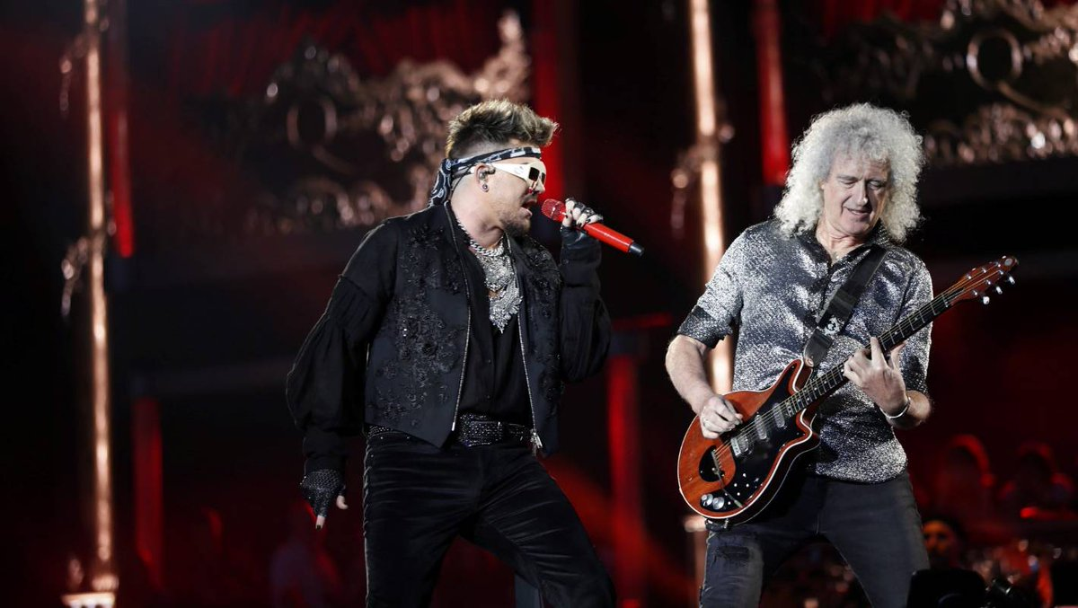 Queen + Adam Lambert dial the theatrics up to 11 for Wellington dlvr.it/RPS6QY