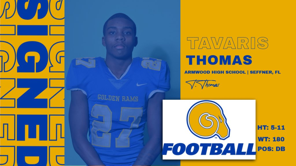 Welcome to the RAMily Tavaris Thomas!  #NSD20 #BanyBuilt20 https://t.co/pOHcJRErBJ