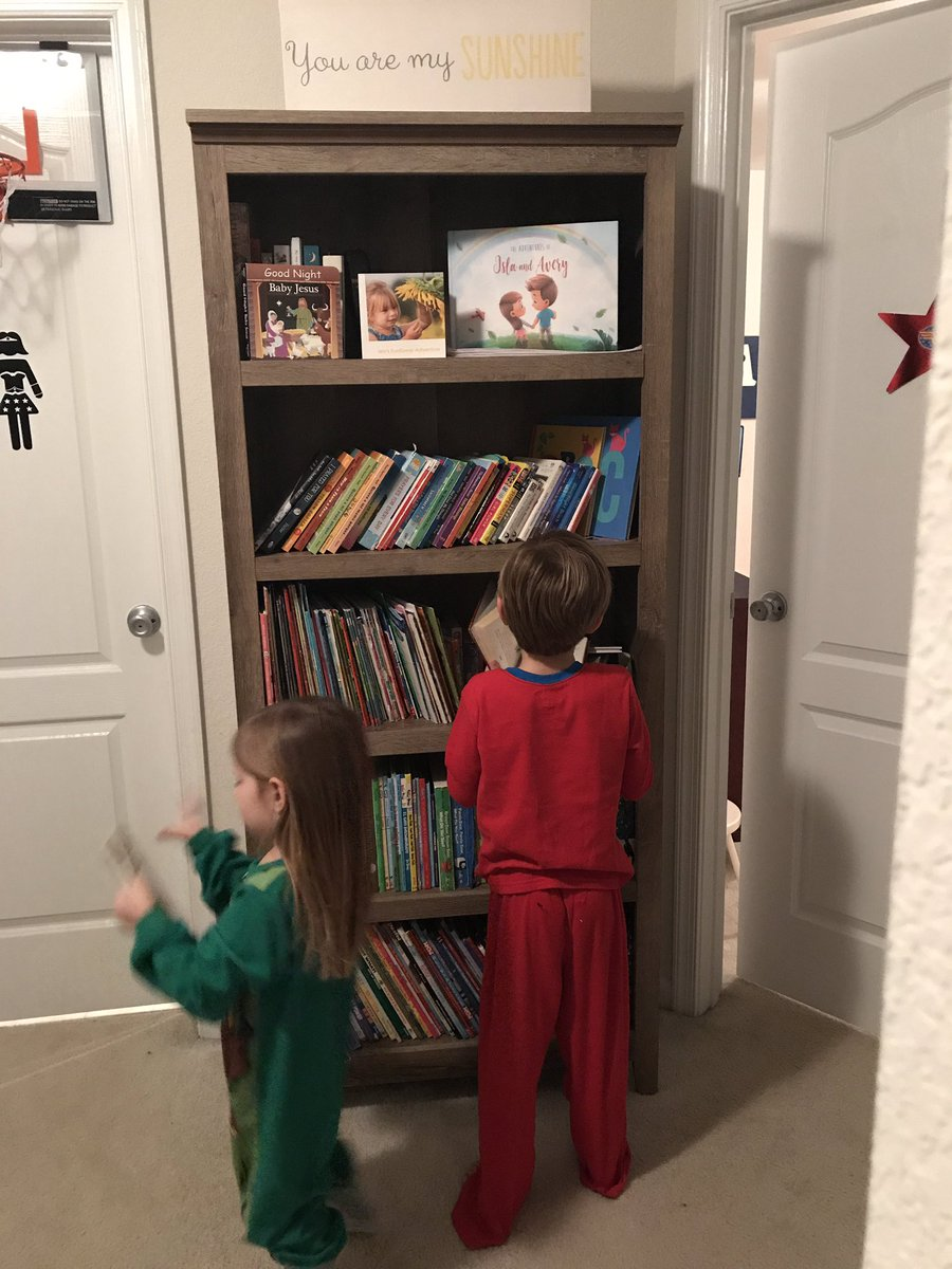 Everyday is Read-Aloud Day at the Rhoads' house!