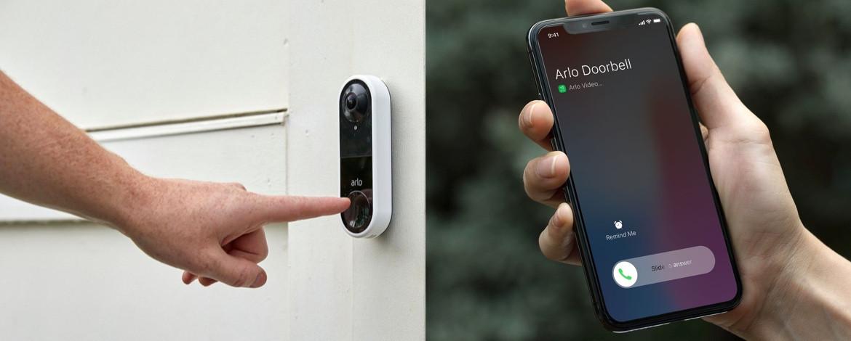 sonnette connectée portier vidéo arlo avis test